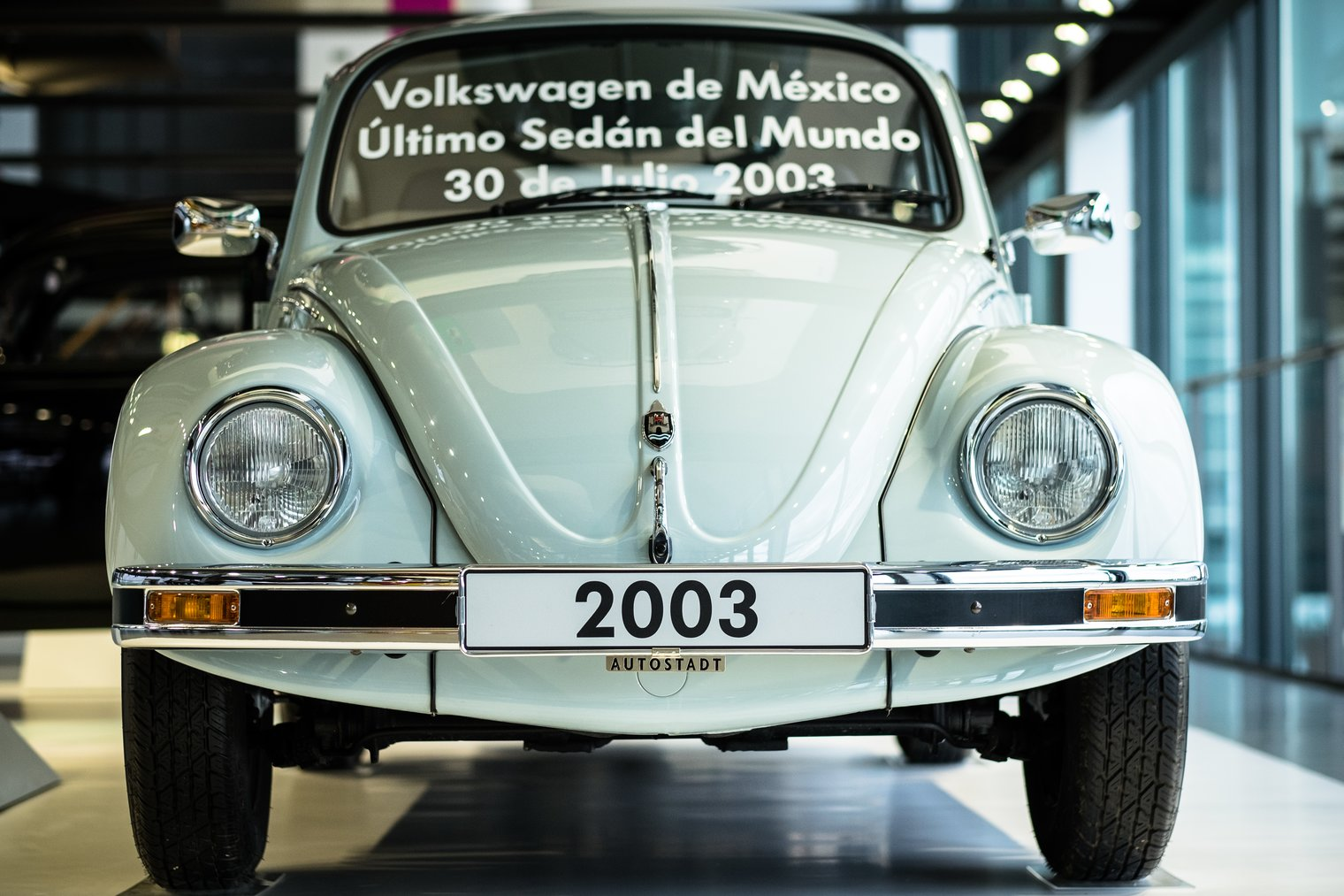 Last VW Beetle from Puebla Mexico 2003